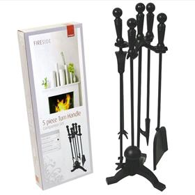Turn Handle Companion Set - Black